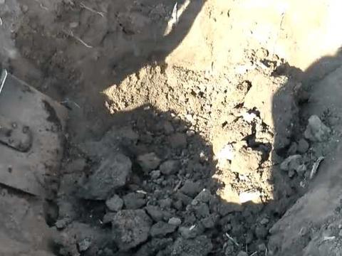 男子用金属探测器发现奇异响声,没想到挖开后发现这种武器
