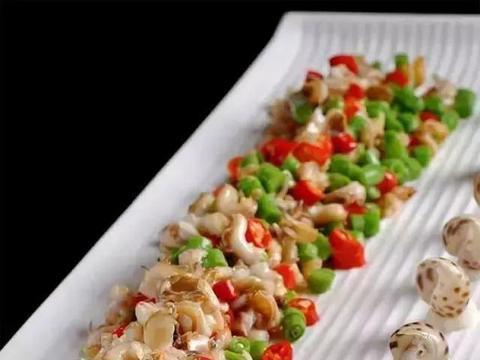 美食精选:川椒小花螺、蒸西兰花、手撕杏鲍菇