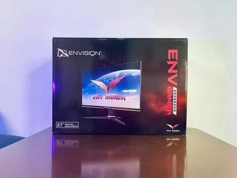 1300元电竞游戏显示器开箱,2K分辨率144Hz,高性价比