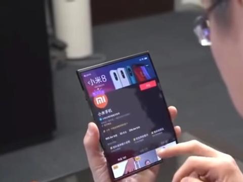 """小米""""又一""""折叠全面屏手机曝光:弹出式双摄+双屏设计"""