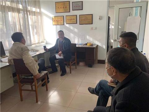 河北省唐山市督导组到路南区进行安全生产督导检查工作
