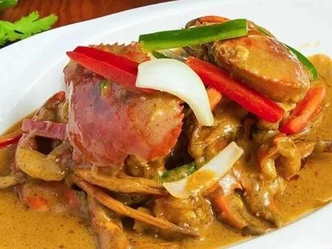 咖喱螃蟹、椒盐皮皮虾、油焖大虾,3道海鲜的做法,好吃到爆