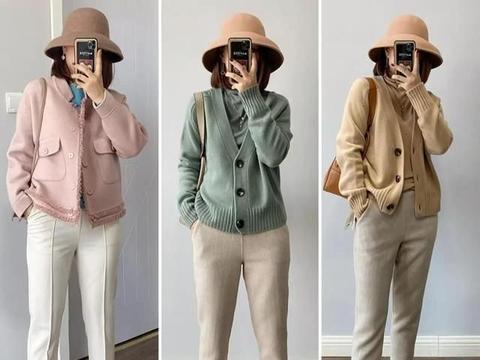 40岁女人气质穿搭,简单的款式,温和的色调,穿出成熟女性的魅力