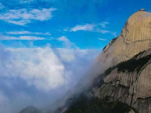 """告别城市的喧嚣,来安庆""""古南岳""""欣赏大自然之美"""
