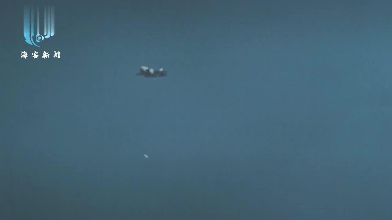 美军首次公布F-35A投放B61-12核航弹画面