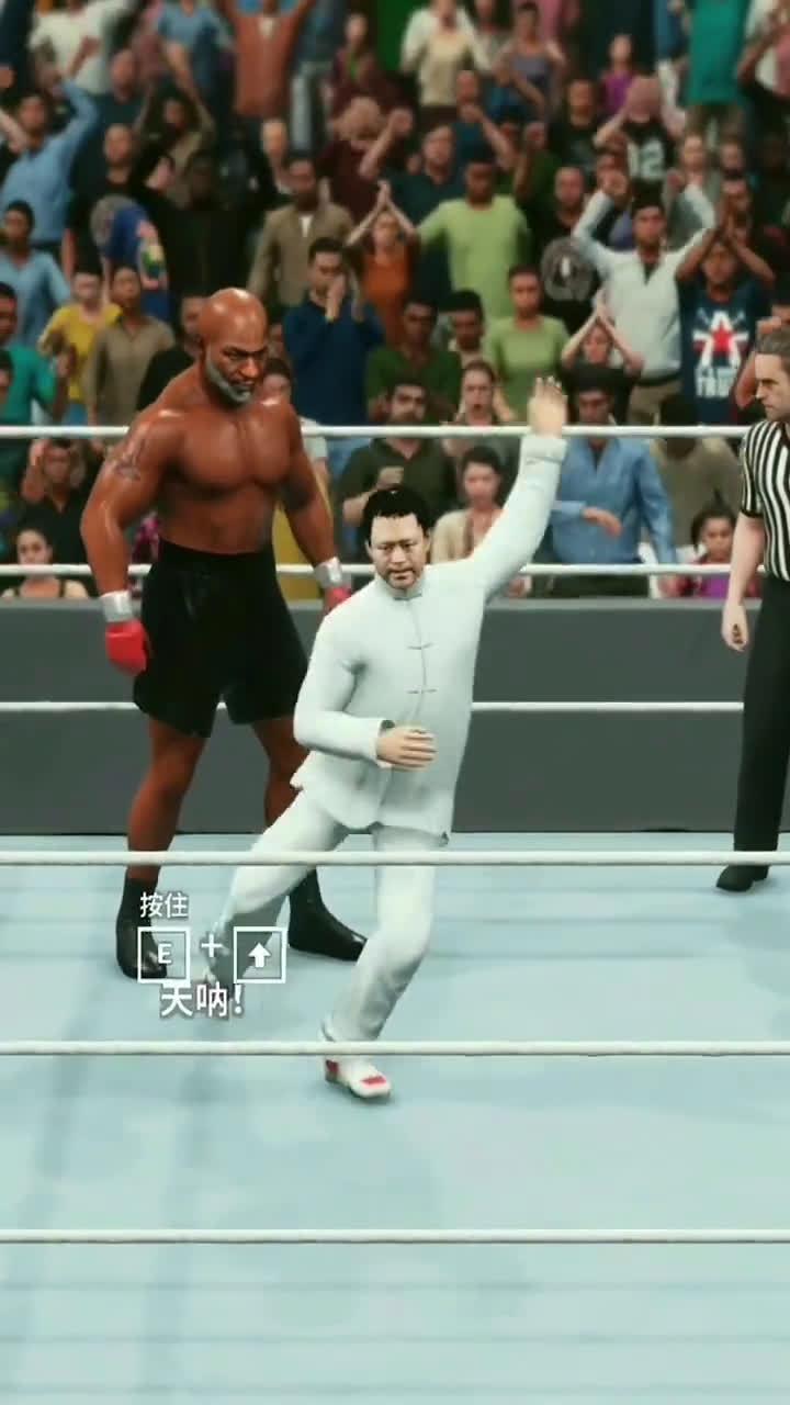 马保国VS拳王泰森,不知道谁做的视频
