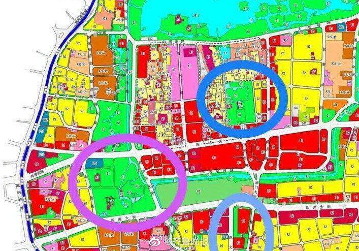 济南 济南趵突泉五龙潭将扩建!航拍周边将变成公园的居民区现状