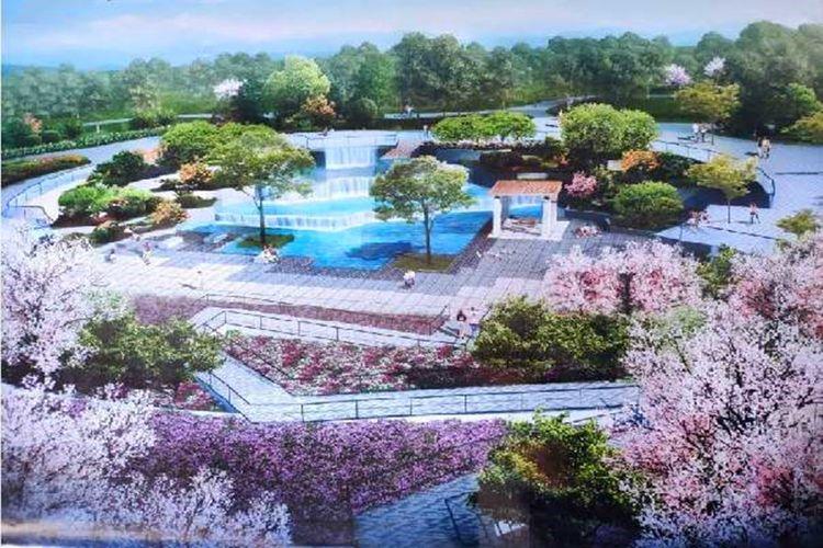 太原即将开放的一座公园,共有5大景观区域,占地14.95万平方米