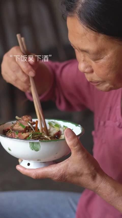 皮豇豆炒腊肉