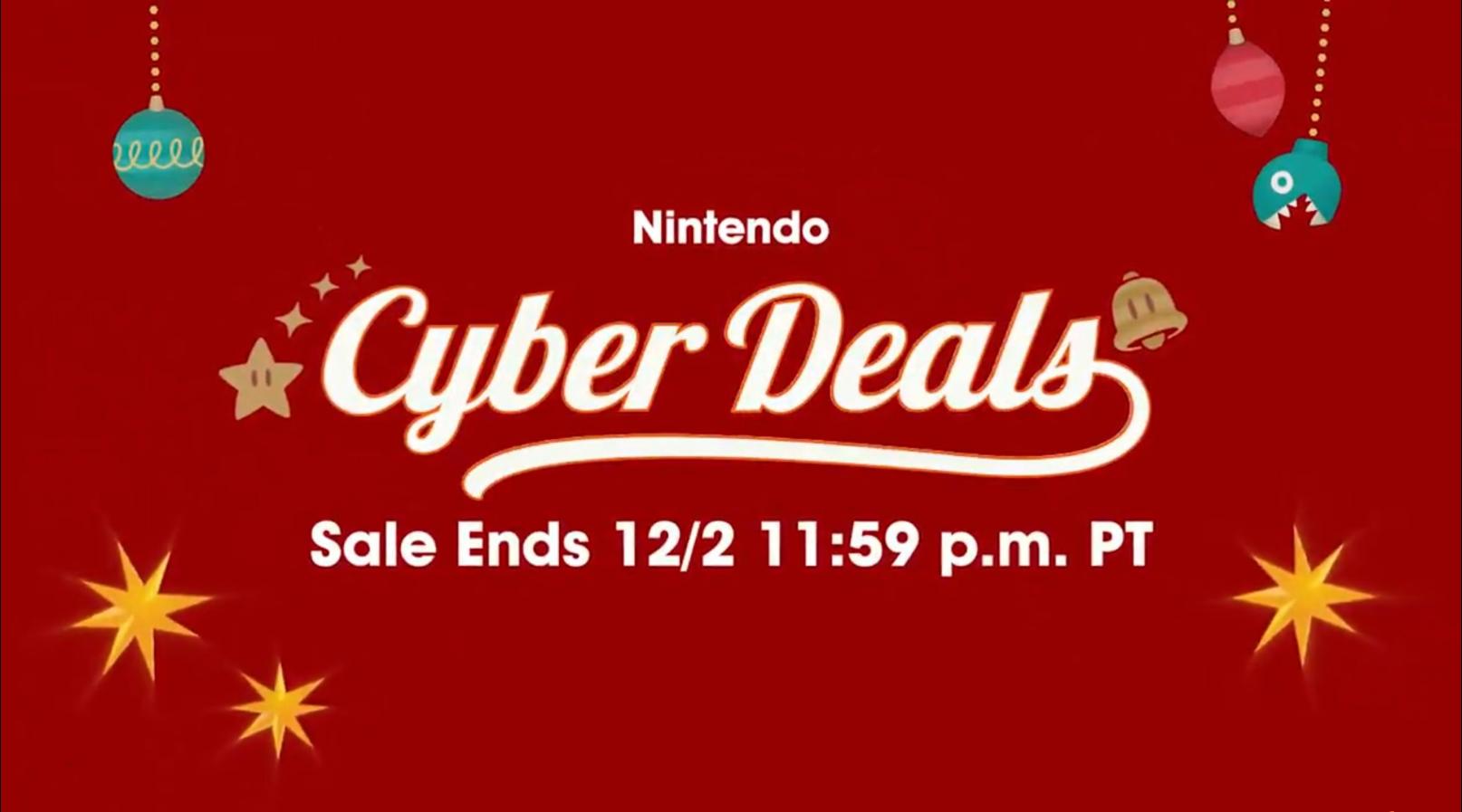 最低59元!任天堂Switch游戏感恩节特惠开启:5折起