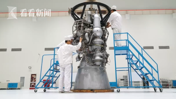 嫦五探月:七十七台发动机为