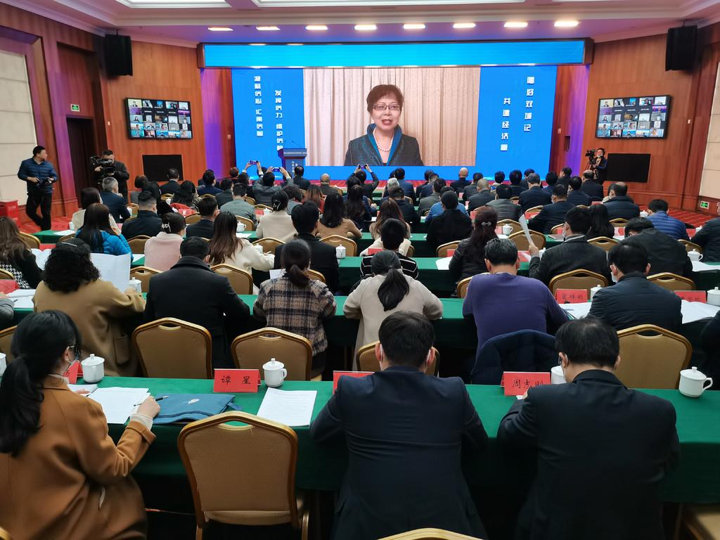 线上+线下!海外川渝籍社团会长联席会首次年会在重庆举行