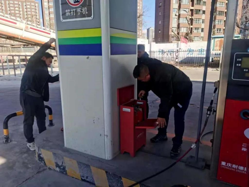 长春公交集团北达汽车公司各基层车队积极开展消防安全宣传活动