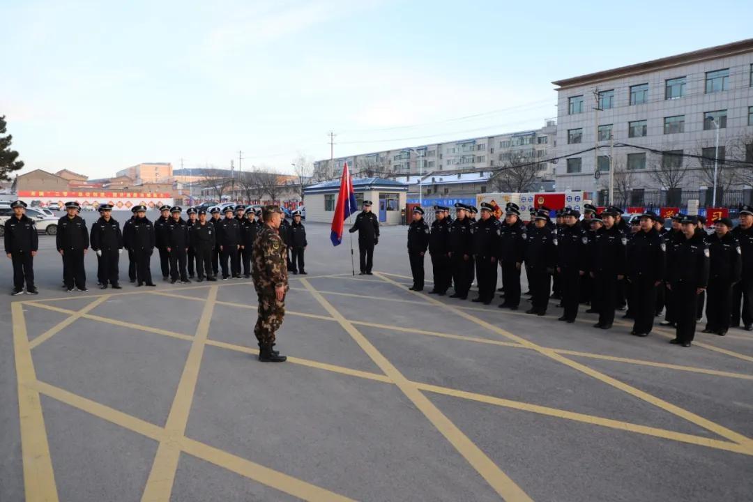 正警容,严风纪,大同市云州公安分局队列礼仪训练进行时