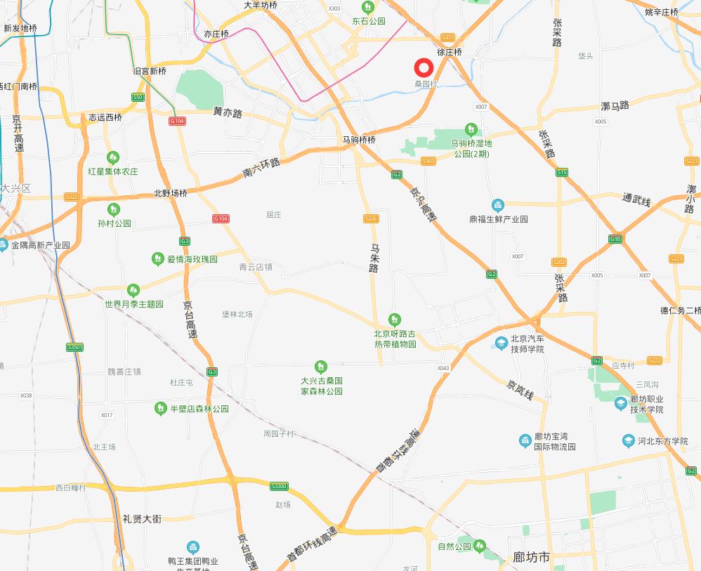 城际廊坊东站到北京亦庄东站交汇位置确定,可换乘地铁21号线!