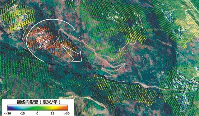 """重庆地质矿产研究院:智能化""""体检""""山体发现地灾隐患点"""