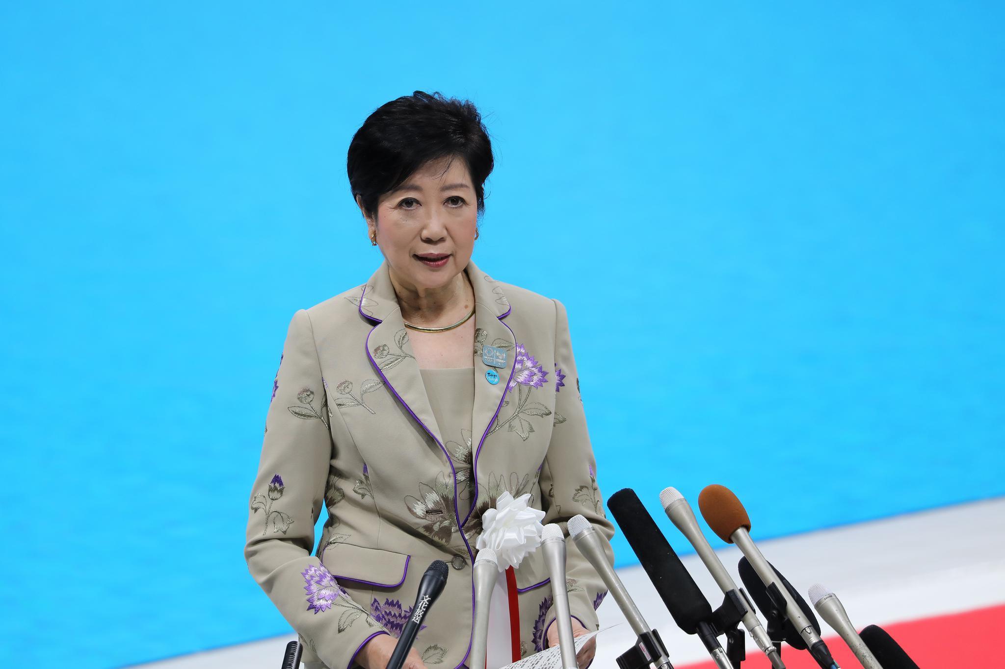 """东京都知事重申采取""""一切可能的措施""""保证奥运会举行"""