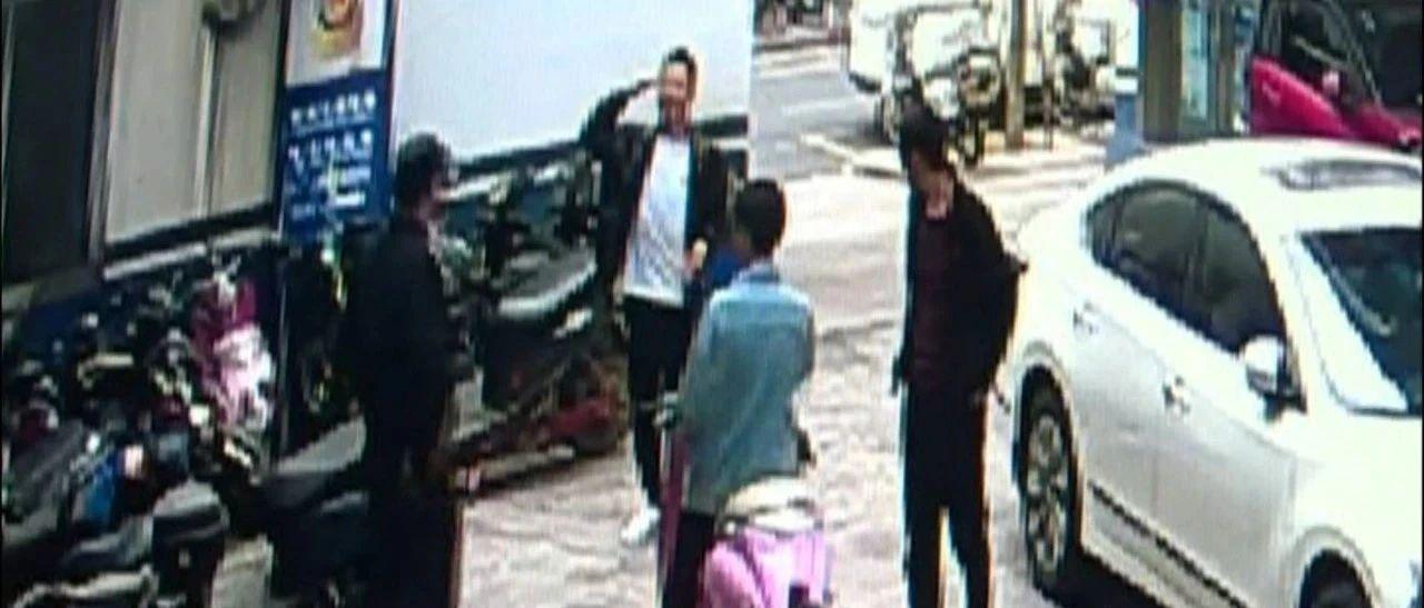 两个男人互相敬礼!电车主都没报案,民警就把贼给抓到了!