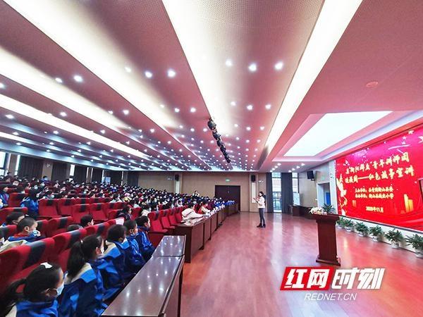"""衡山县:""""衡阳群众""""青年讲师团""""送""""红色故事进校园"""