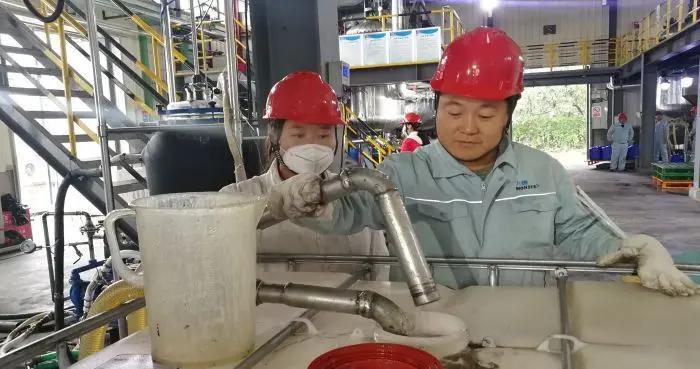 兴平5万吨/年反向乳液聚合物微球项目一期生产车间