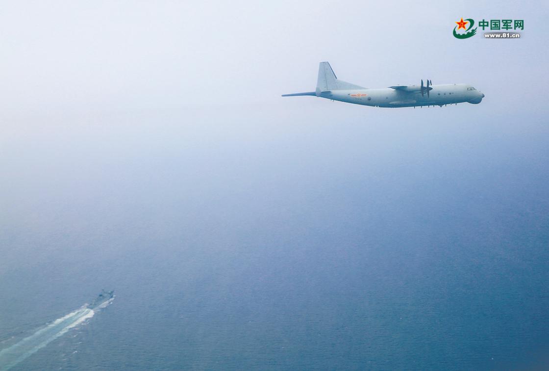 """狩猎""""海鲨""""!南部战区海军航空兵某团开展反潜训练"""