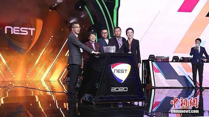 电竞前线丨NEST全国电子竞技大赛总决赛杭州开赛 VG夺冠