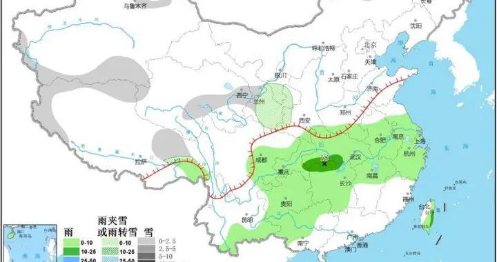 南方多阴雨天气 华北、黄淮等地部分地区有大雾