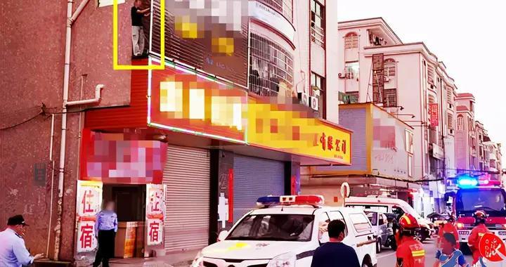 广州黄埔一女子爬上广告牌欲跳楼,民警救下后依法将其行拘5日