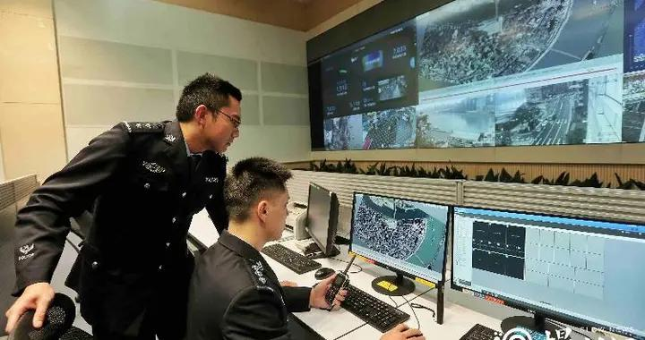 怎样用3D电子沙盘实时监测洪崖洞景区?看看渝中警方的智能化社会治安防控体系