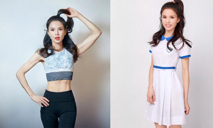 54岁李若彤穿母校17岁同款校服 这身材和17岁少女简直没差啊!