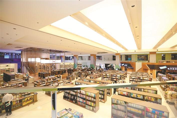 中心书城:全民阅读主阵地 城市文化会客厅