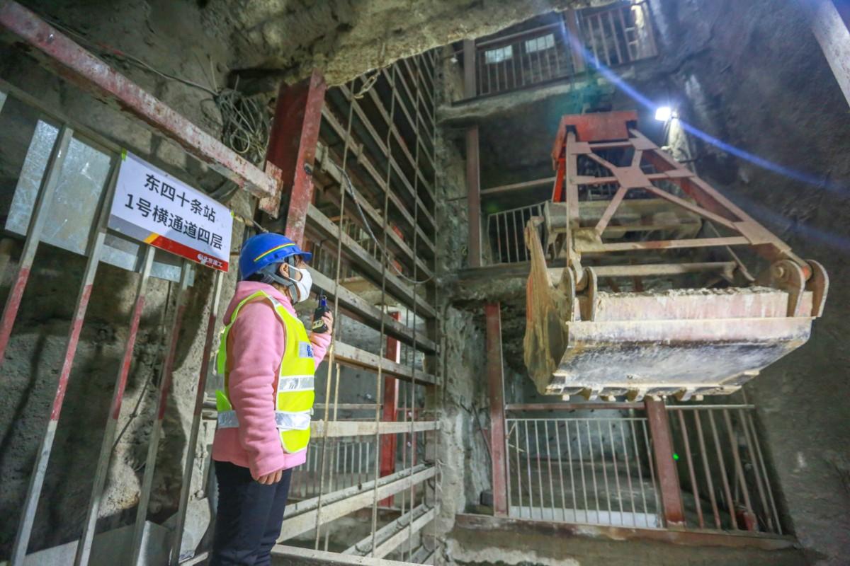 全线最难一站!北京地铁3号线今起从这下穿2号线图片
