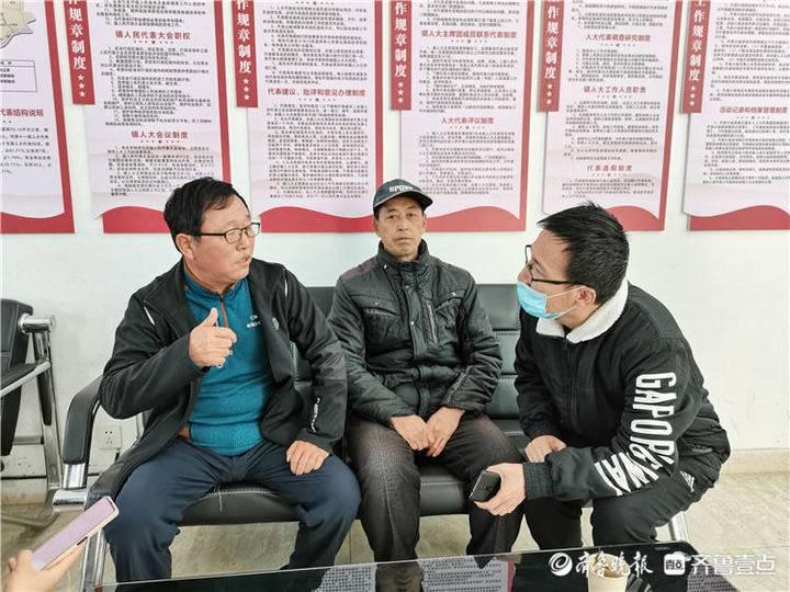 惠民县淄角镇人大代表之家迎来记者团集中采访
