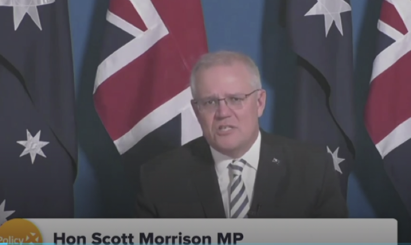 澳大利亚总理画风突变夸中国。图片