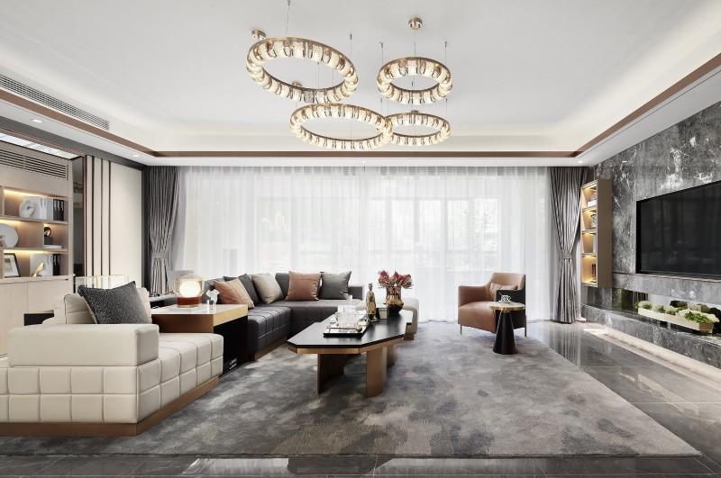 区区23万元,就把154平米的四居室装修拿下了,真是出乎意料!