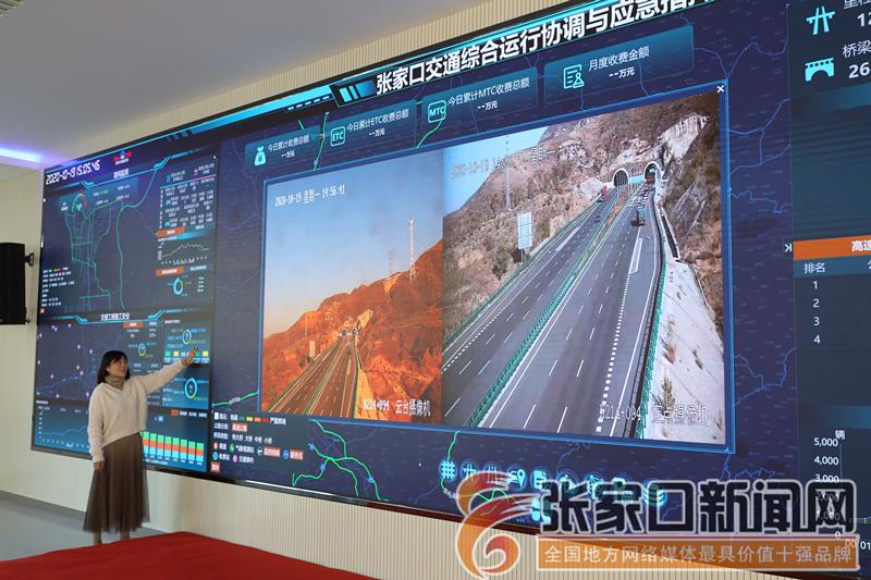 """用科技手段""""智""""理交通—走进河北省 TOCC 张家口分中心"""