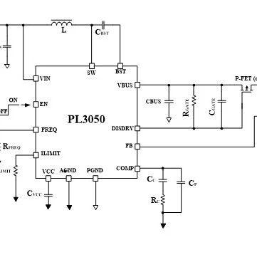 宝砾微发布20V 15A高效升压电源管理方案PL3050