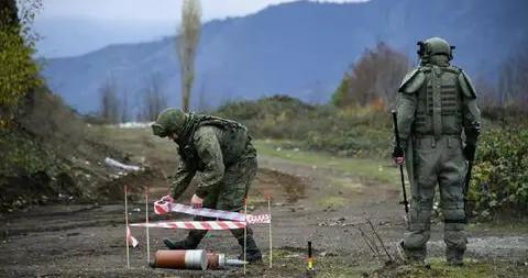 纳卡地区地雷爆炸致1死5伤,伤者包含1名俄军官
