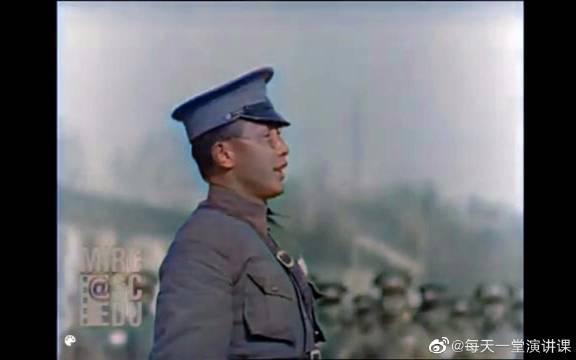 1929年的黄埔军校,真实彩色影像!……