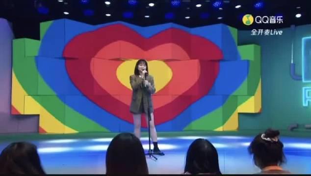 QQ音乐见面吧电台演唱主打歌《Fancy dream》…………