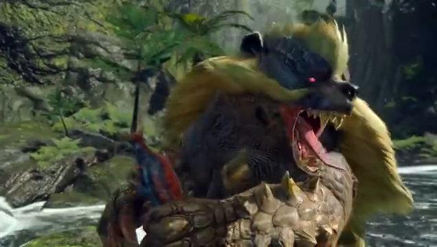 猎人老常客!《怪物猎人崛起》青熊兽介绍短片
