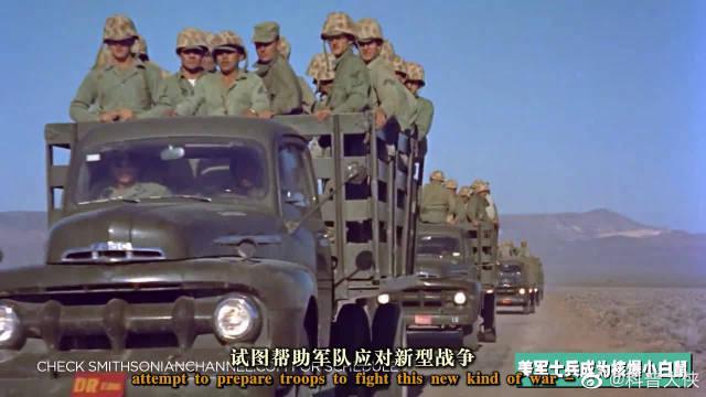 沙漠岩石军演中的真人士兵成为核爆小白鼠!