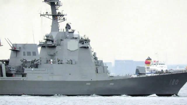 2020.11.24 日本海上自卫队·导弹驱逐舰 ' 羽黑 ( DDG-180 ) '……