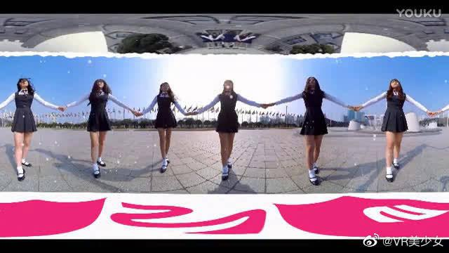 制服美少女热舞,VR全景视频3D视频美女热舞!满屏的腿呀!