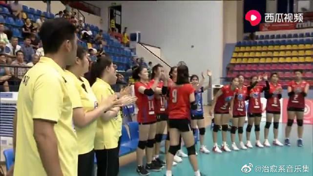 亚洲U23女排锦标赛B组:泰国女排3-0横扫澳大利亚女排
