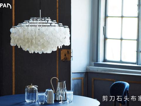 进口轻奢灯具怎么选?看看这几款提升客厅颜值的艺术灯具!