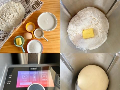 松软香甜的豆沙面包——米博揉面版