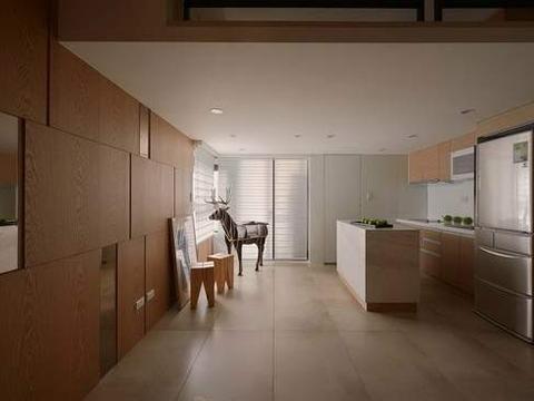 60平休闲风豪宅,挑战空间尺度限制,实践生活美学概念