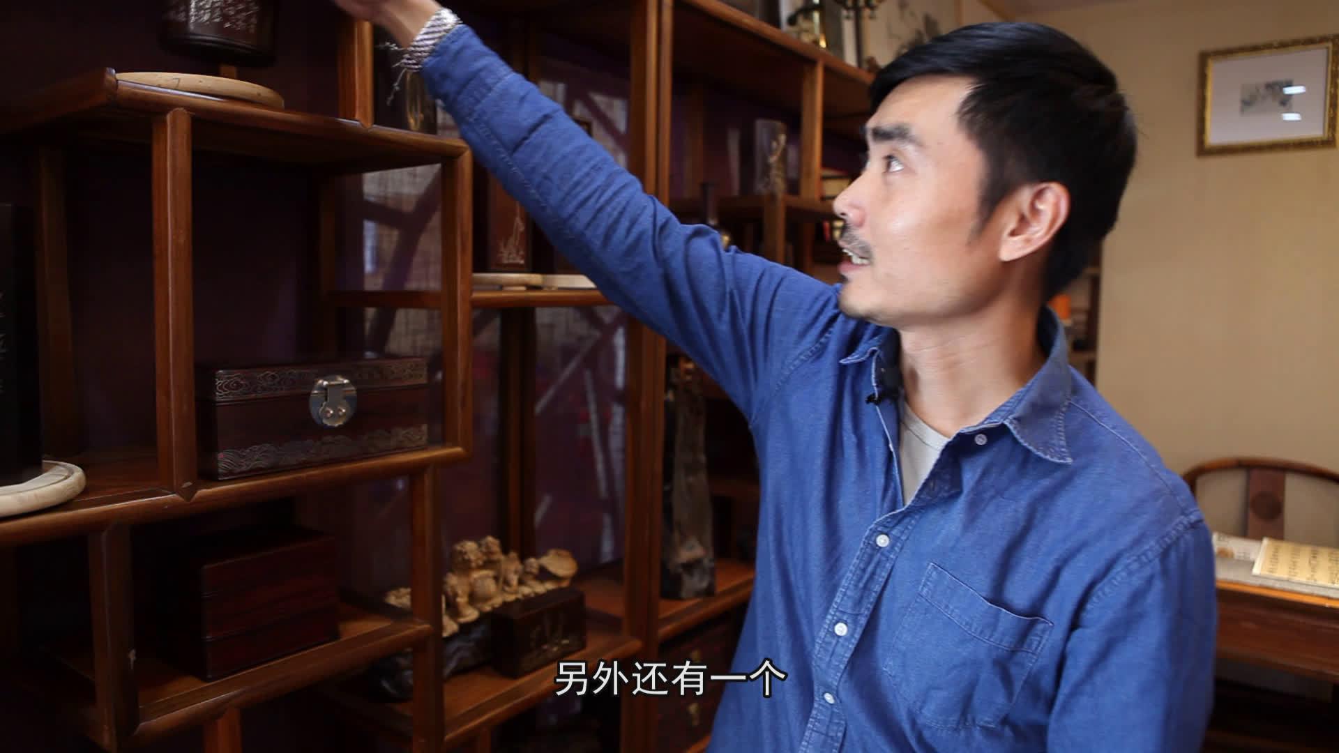 浙江红木嵌银手艺人的创作故事