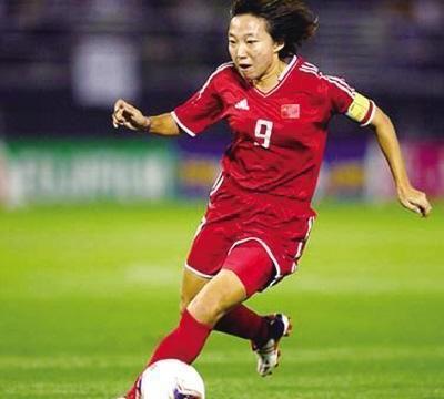 中国女足第一名将,性格开朗、射门欲望强烈,中前场渗透很有威胁